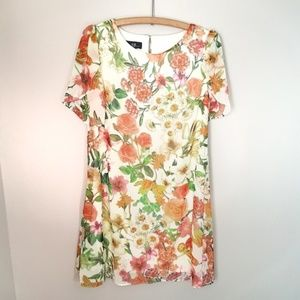 AGB floral dress size 4